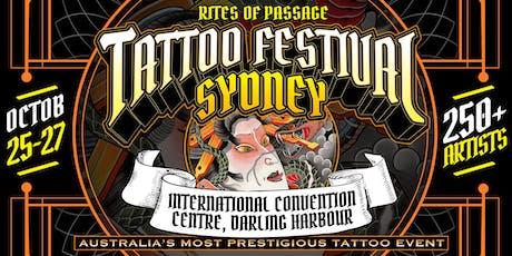 Rites of Passage Tattoo Festival - Sydney 2019 tickets