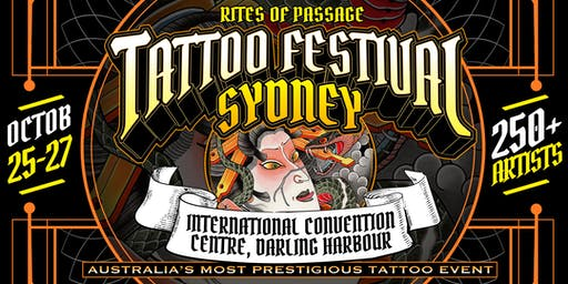 Rites of Passage Tattoo Festival - Sydney 2019