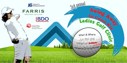 3rd Annual Ladies Swing Away for United Way