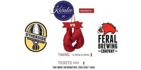 Otherside Brewing vs Feral Brewing Dinner tickets