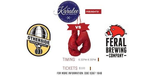 Otherside Brewing vs Feral Brewing Dinner