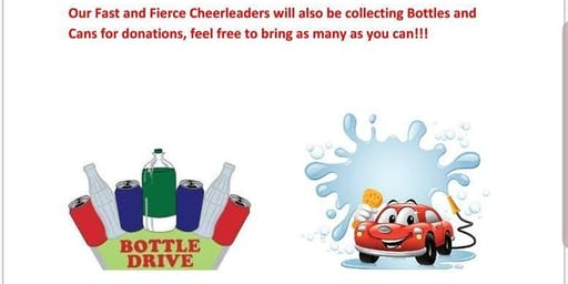 Car wash and Bottle Drive Fundraiser