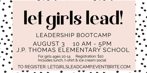 Let Girls Lead: Leadership Day Camp