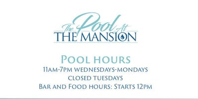 The Pool At The Mansion (WeekDays)
