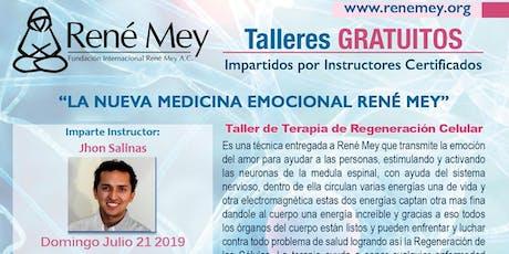 Julio 21 Miami Talleres Tecnicas Medicina Emocional Rene Mey tickets