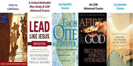 UMM/Lay Servant Ministries Training at Asbury UMC on 8/3/19