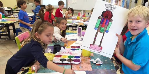 3 Day Summer Art Camp with a Sibling Ages 5-13