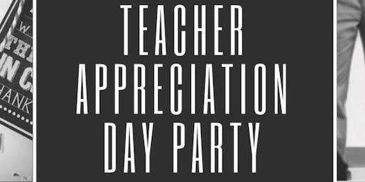 2019 Teacher Appreciation Day Party