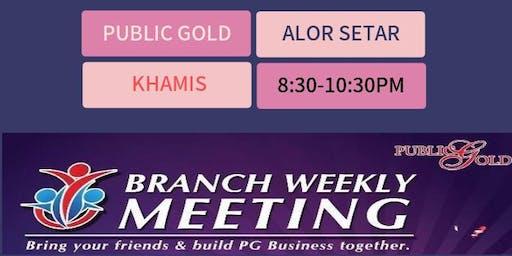Seminar Kelebihan Menyimpan Emas Alor Setar Branch 18/7/2019