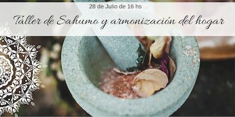 Taller de Sahumo y Armonización del Hogar entradas