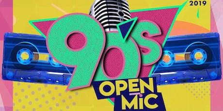 90's Open Mic  tickets