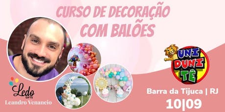 Ledo Gifts - Curso de Balões | Barra da Tijuca RJ ingressos