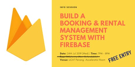 Info Session: Firebase tickets