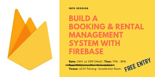 Info Session: Firebase