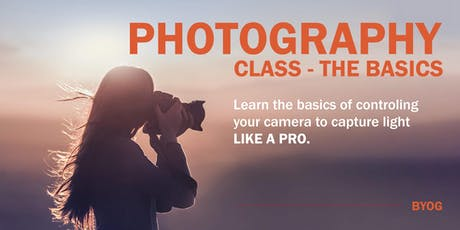 Photography Basics Class - For Beginners tickets