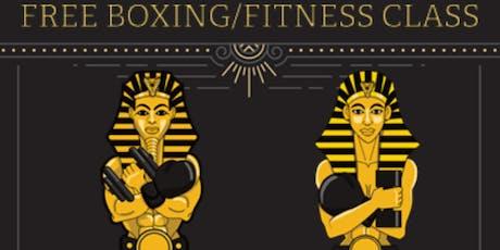 Pharaoh Phitness Pop Up Boxing/Fitness Class - Kelly Drive tickets