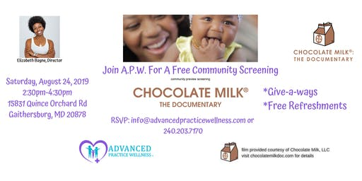 A Free Community Screening - Chocolate Milk: The Documentary