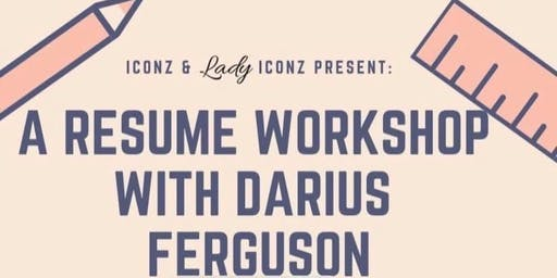 Youth Resume Workshop hosted by ICONZ & Lady ICONZ