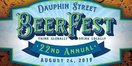 Dauphin Street Beer Fest 2019 at KAZOOLA tickets