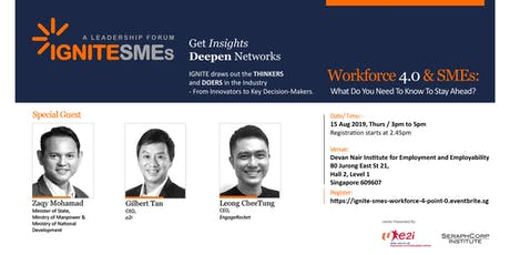 Ignite SMEs - Workforce 4.0 & SMEs: What Do You Need To Know To Stay Ahead? tickets