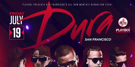 DURA SF | HIPHOP & REGGAETON | SAN FRANCISCO'S ALL NEW MONTHLY REGGAETON PARTY @ THE END UP!