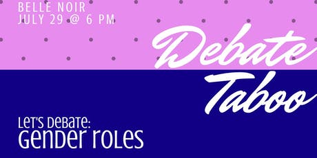 Let's Debate: Gender Roles tickets
