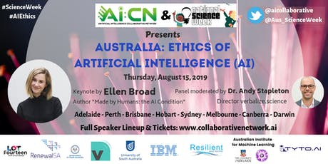 Ethics of Artificial Intelligence - National Science Week (Adelaide) tickets