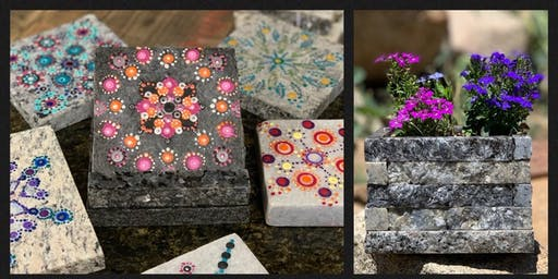 Stone & Pallet Eco-art party and classes