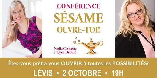 Conférence: S'ouvrir à toutes les possibilités! - Lévis