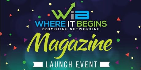 Copy of WIB Magazine launching  tickets