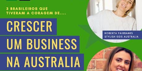 Como Crescer um Business na Australia entradas