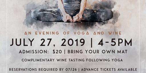 An Evening of Yoga & Wine At The Winery