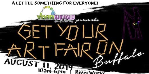 """Get Your Art Fair On, Buffalo!"" at Buffalo RiverWorks"