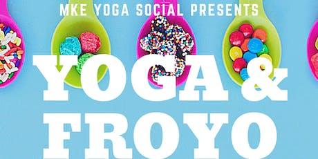 Yoga and Frozen Yogurt tickets
