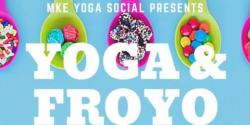 Yoga and Frozen Yogurt