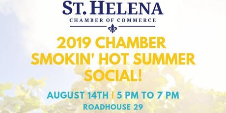 Smokin' Hot Summer Social with Roadhouse 29, Freemark Abbey & the Chamber!  tickets