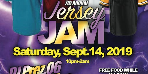7TH ANNUAL JERSEY JAM