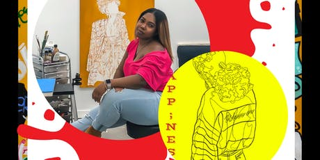 The Pursuit of Happ;ness: Artist Talk Back & Coloring Book Release tickets