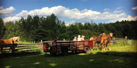 Horse-drawn Heartwood tickets