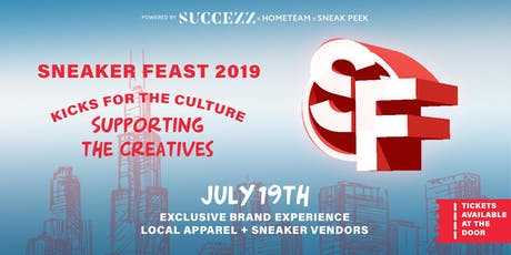 Sneaker Feast 2K19 tickets