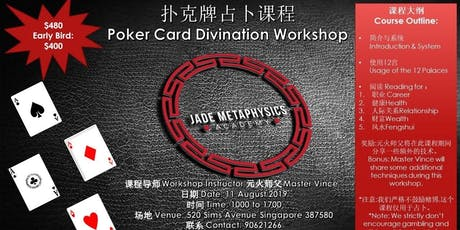 Pokercard Divination Workshop tickets