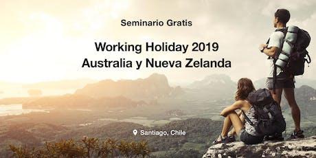 Seminario Working Holiday Australia & New Zealand 2019 tickets