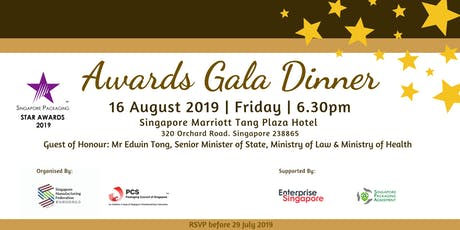 Singapore Packaging Star Awards 2019 tickets