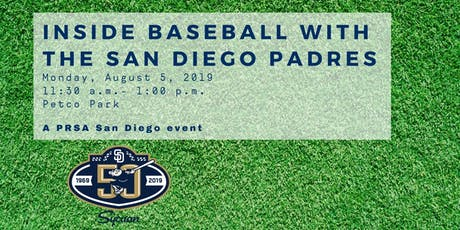 Inside Baseball with the San Diego Padres tickets