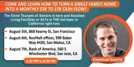 Opportunities in Assisted and Senior Living Facilities-Emmanuel Guarino-SF tickets