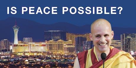 Is Peace Possible? Public Talk tickets