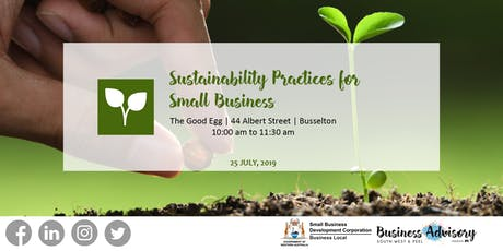 Sustainability Practices for Small Business | Busselton tickets
