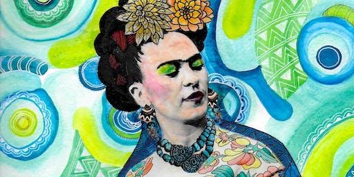 Frida Khalo Inspired Collage Workshop