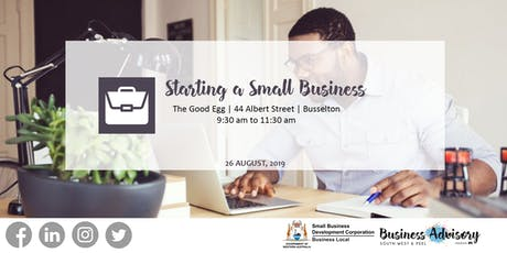 Starting a Small Business | Busselton tickets