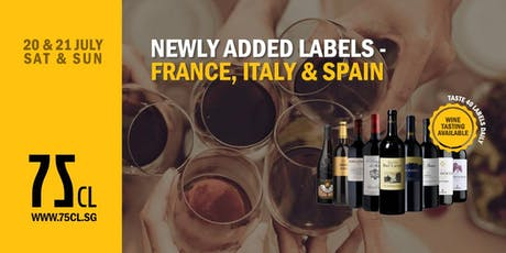 Newly Added Labels - France, Italy & Spain tickets